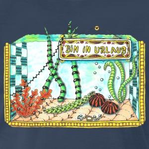 T-Shirt Zentangle Motiv bin in Urlaub Ferien