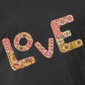 T-Shirt Motiv Love 3