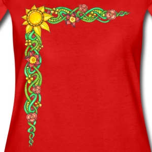 T-Shirt Zentangle Motiv keltische Sonnenranke