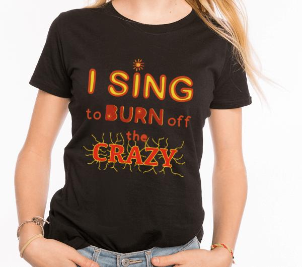 ausgefallene Frauen T-Shirts