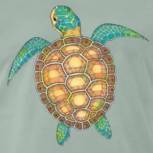 T-Shirt Zentangle Motiv Meeresschildkröte