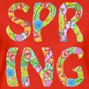 Zentangle T-Shirt Motiv Spring